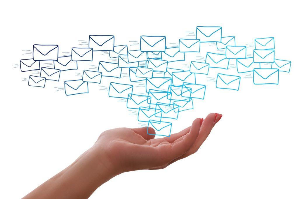 メール配信について